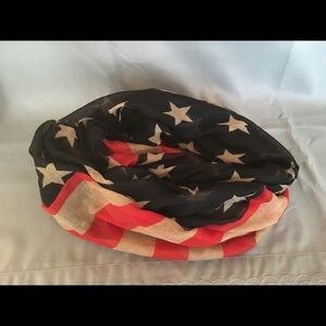 Accessories - American Flag Infinity Scarf